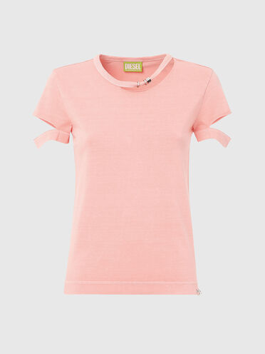 Green Label cut-out T-shirt