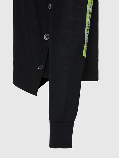 Diesel - M-PALMER, Black - Knitwear - Image 5
