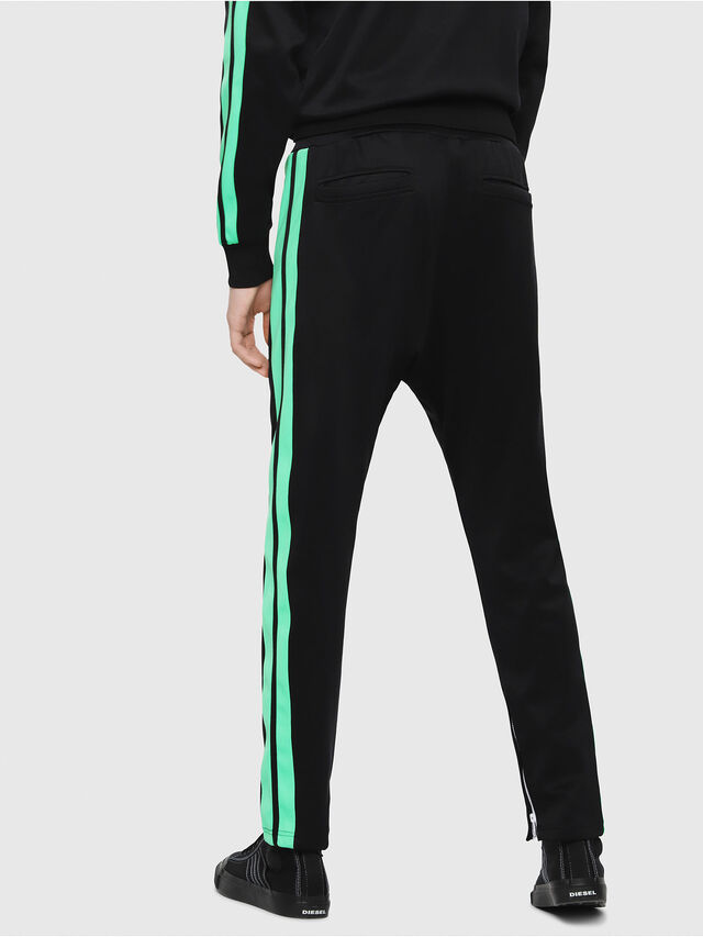 Diesel - P-RUSSY-BAND, Black/Green - Pants - Image 2