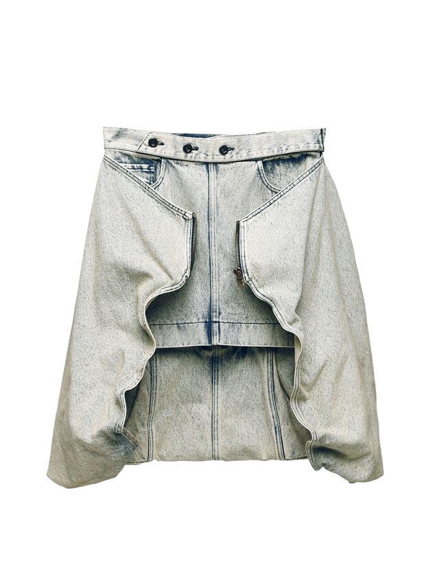 Diesel - SOBS01, Grey Jeans - Skirts - Image 1