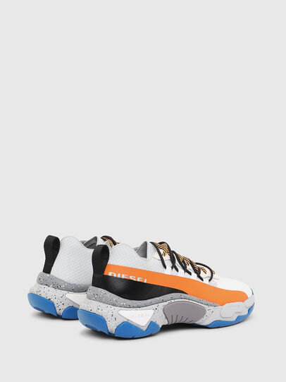 Diesel - S-KIPPER BAND, White/Orange - Sneakers - Image 3