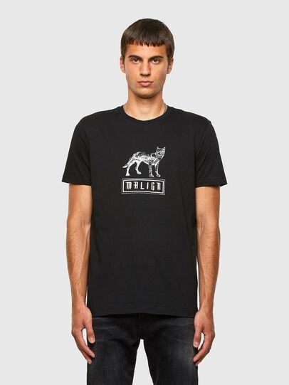 Diesel - T-DIEGOS-N20, Black - T-Shirts - Image 1