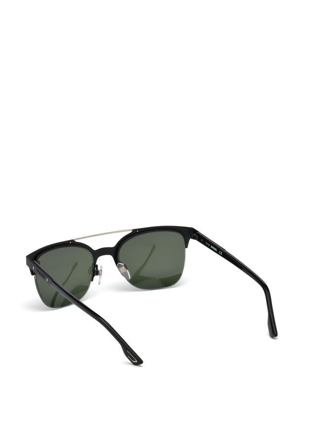 Diesel - DL0215, Black - Sunglasses - Image 2