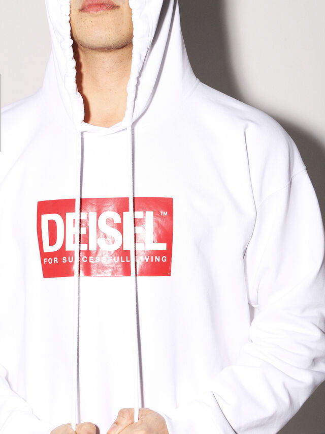 Diesel - DEIS-SHOOD, White - Sweaters - Image 6
