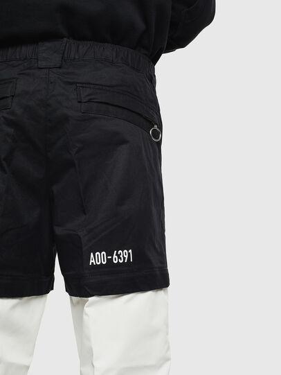 Diesel - P-MELTY, Black/White - Pants - Image 6