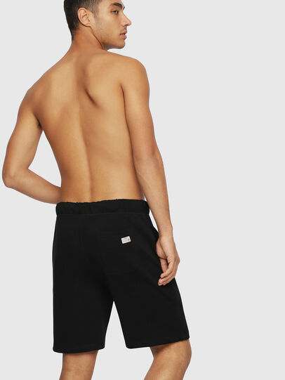 Diesel - UMLB-PAN, Black/White - Pants - Image 2
