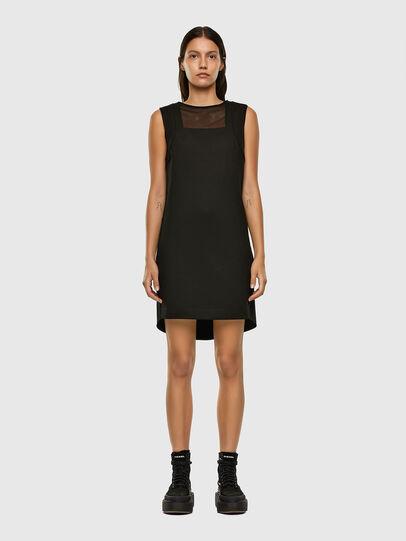 Diesel - D-PLEADY, Black - Dresses - Image 5