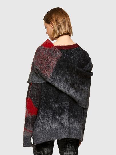 Diesel - M-BRONJA, Black/Red - Knitwear - Image 2