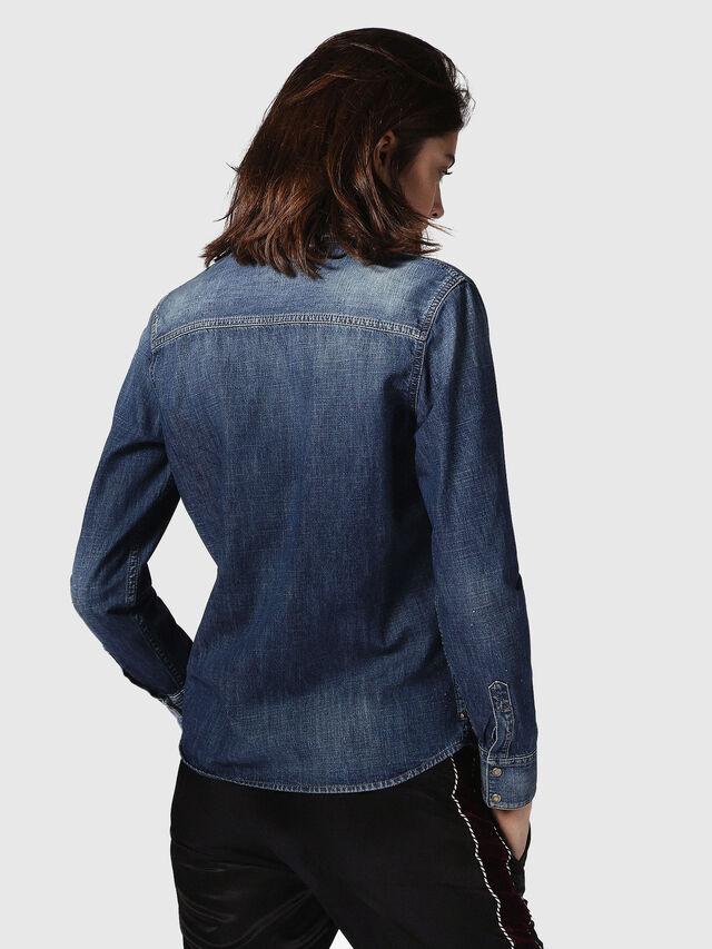 Diesel - DE-KERI, Blue Jeans - Denim Shirts - Image 3