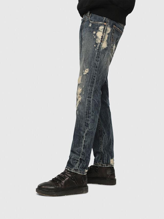 Diesel Mharky 084ZM, Dark Blue - Jeans - Image 3