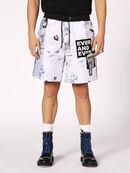 P-GROUND, White - Shorts