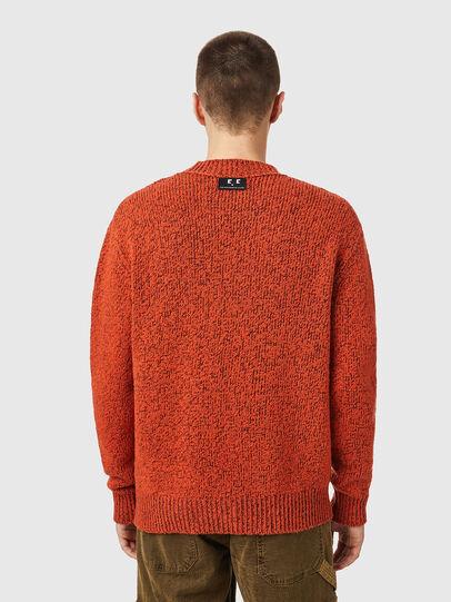 Diesel - K-EVANS, Orange - Knitwear - Image 2