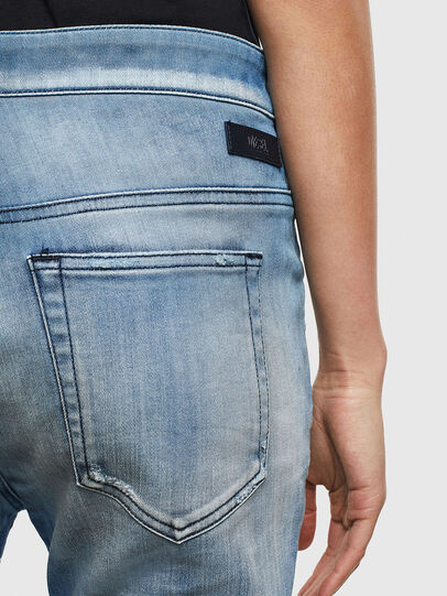 Diesel - Fayza JoggJeans 0099Q, Medium blue - Jeans - Image 4