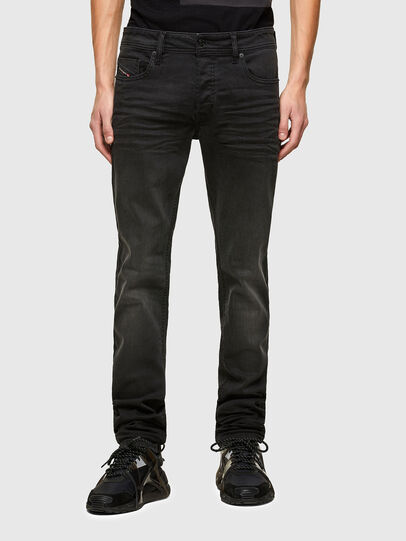 Diesel - Sleenker C69EQ, Black/Dark grey - Jeans - Image 1