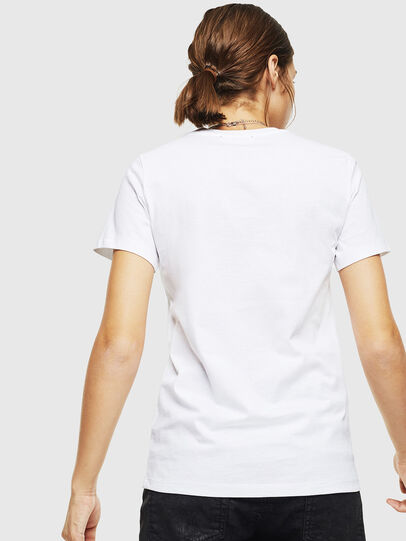 Diesel - T-SILY-DIVISION, White - T-Shirts - Image 2