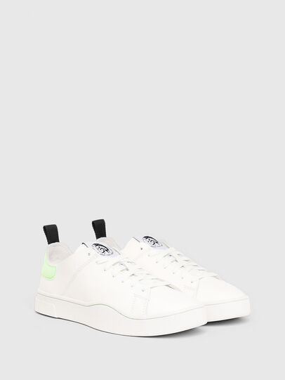 Diesel - S-CLEVER LS W, White/Green - Sneakers - Image 2