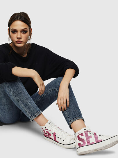 Diesel - S-ASTICO MC W, White/Pink - Sneakers - Image 5