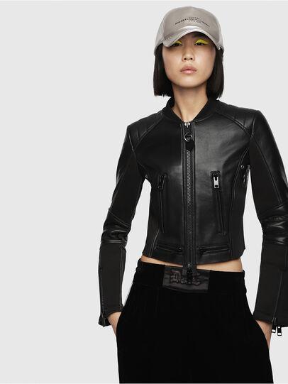 Diesel - L-MARI,  - Leather jackets - Image 1