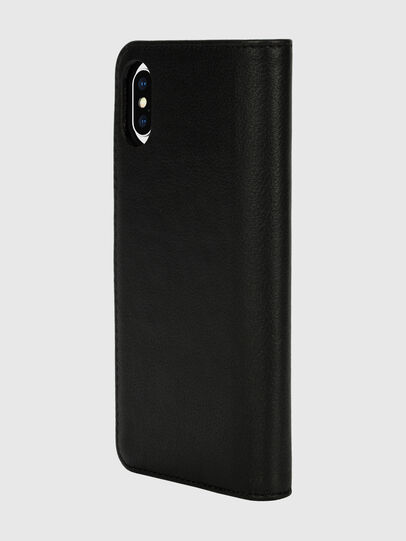 Diesel - DIESEL 2-IN-1 FOLIO CASE FOR IPHONE XS & IPHONE X, Black/White - Flip covers - Image 5