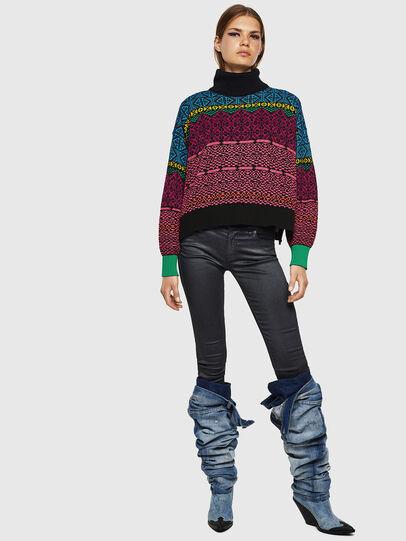 Diesel - M-CV-NORV, Multicolor - Knitwear - Image 6