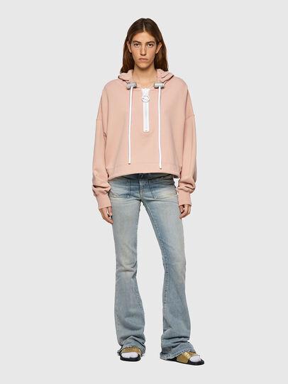 Diesel - F-CROPPY-B1, Pink - Sweaters - Image 4