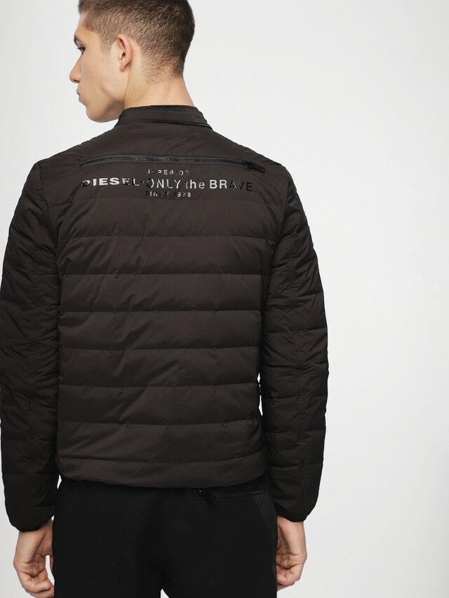 Diesel - W-HANKS, Black - Winter Jackets - Image 2