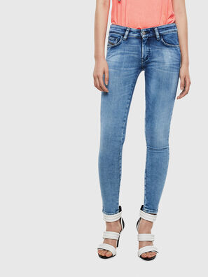 Slandy Low 0095P, Light Blue - Jeans