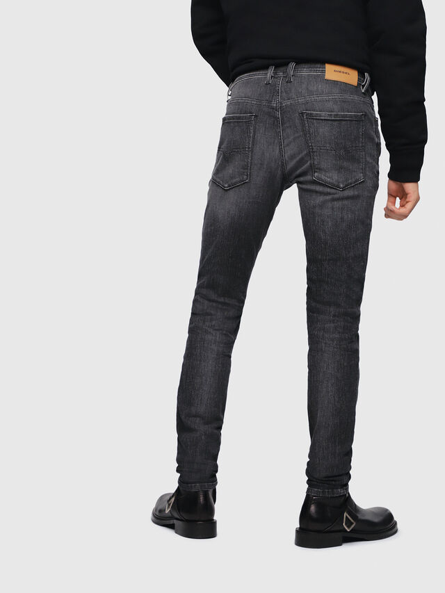 31106bac Diesel - Sleenker 089AA, Black/Dark grey - Jeans - Image 2