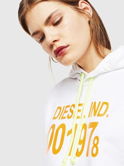 Diesel - S-GIRK-HOOD, White - Sweaters - Image 5