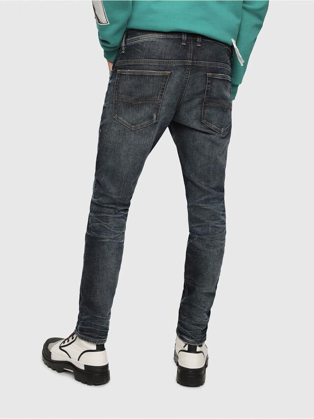 Diesel - Thommer JoggJeans 087AI, Dark Blue - Jeans - Image 2