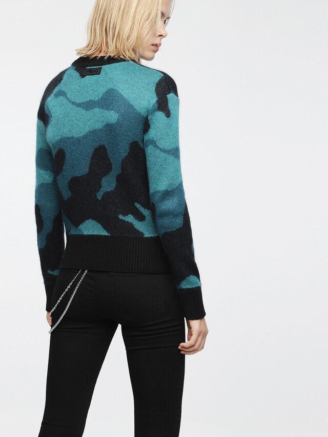 Diesel - M-PIC, Blue/Black - Knitwear - Image 2