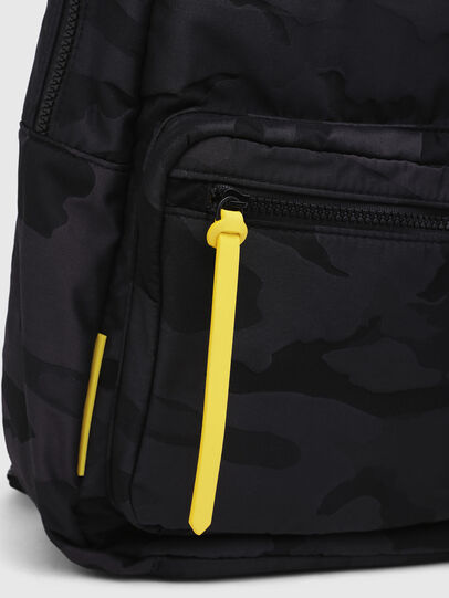 Diesel - F-DISCOVER BACK, Black/Yellow - Backpacks - Image 4