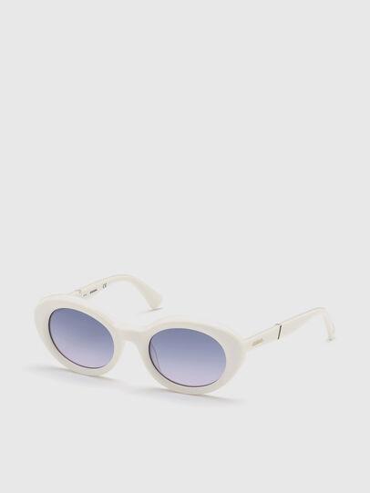 Diesel - DL0281, White - Sunglasses - Image 2