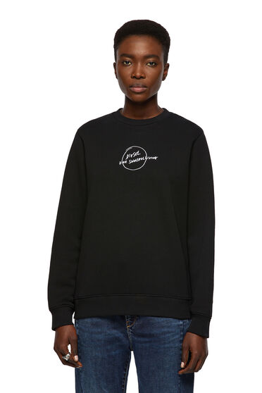 Green Label sweatshirt with script logo