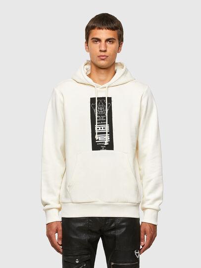 Diesel - S-GIRK-HOOD-N3, White - Sweaters - Image 1