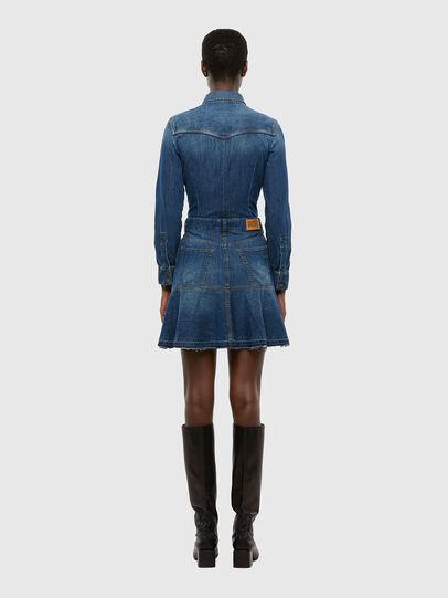 Diesel - DE-JOANA, Medium blue - Dresses - Image 2