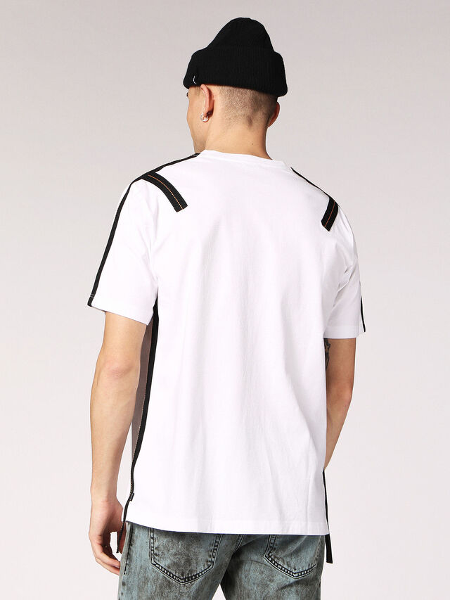 Diesel - T-JUST-TAPE, White - T-Shirts - Image 2