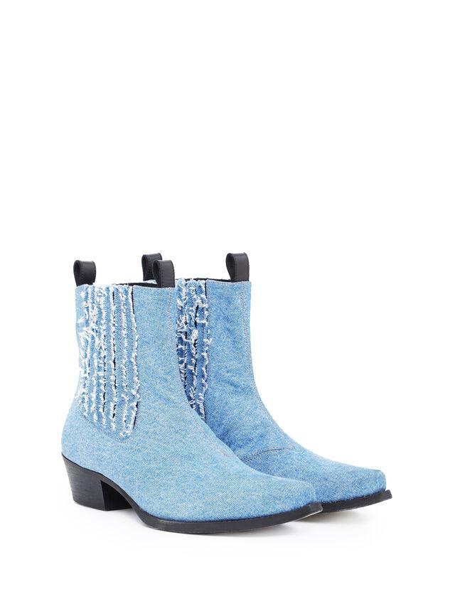 Diesel - SOCHELSEABOOT, Blue Jeans - Boots - Image 1