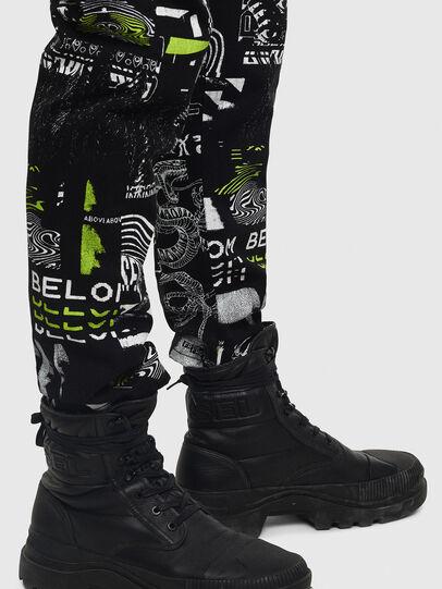 Diesel - D-Vider 009BC, Black - Jeans - Image 4
