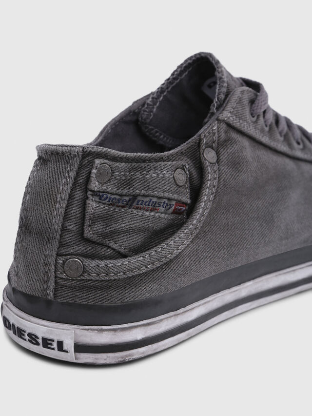 Diesel EXPOSURE LOW I, Metal Grey - Sneakers - Image 4