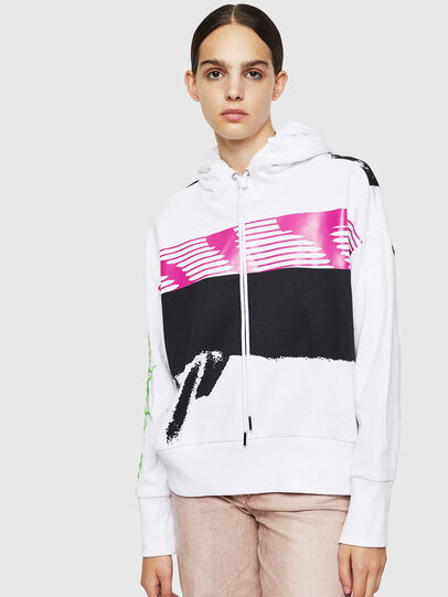 Diesel - F-MAGDALENA, White - Sweaters - Image 1