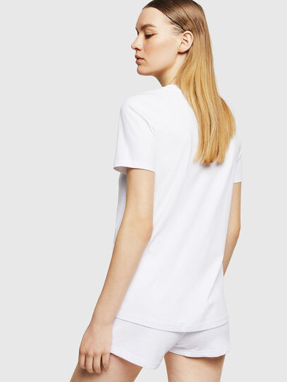 Diesel - UFTEE-SILY-INT, White - T-Shirts - Image 2