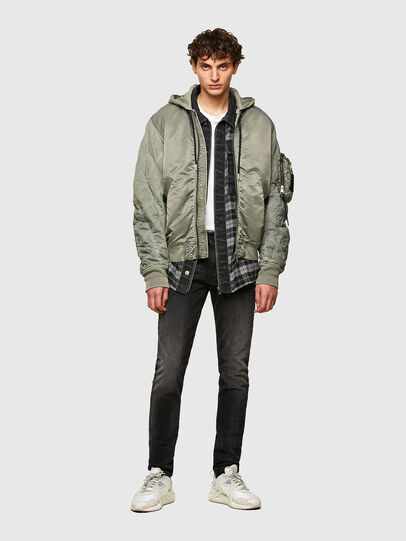 Diesel - J-LAGASH, Military Green - Jackets - Image 6