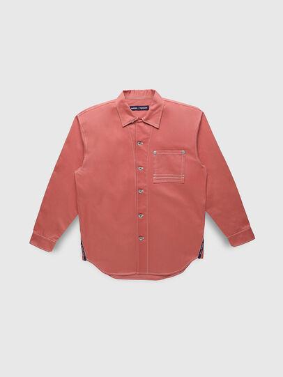 Diesel - PR-SH01, Pink - Denim Shirts - Image 1