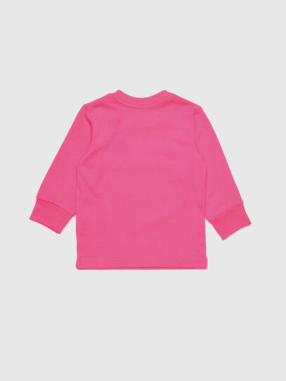 Diesel - TJUSTDIVISIONB ML, Hot pink - T-shirts and Tops - Image 2