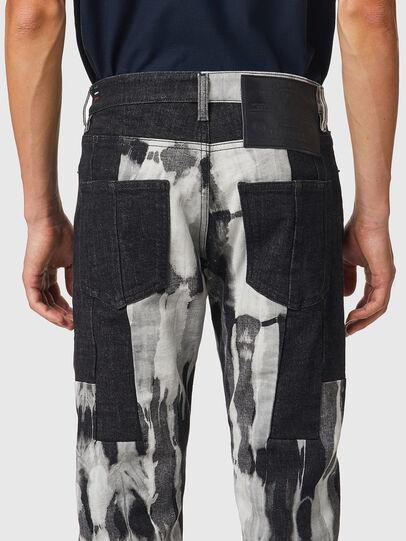 Diesel - D-Kras 09B35, Black/Dark grey - Jeans - Image 4