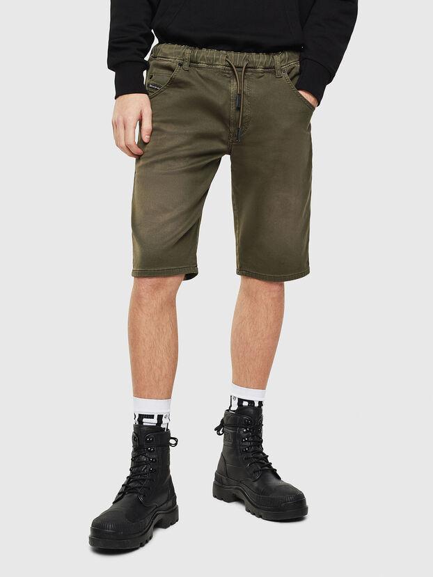 D-KROOSHORT JOGGJEANS, Dark Green - Shorts