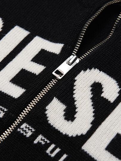 Diesel - KLOGOXZIP, Black - Knitwear - Image 3