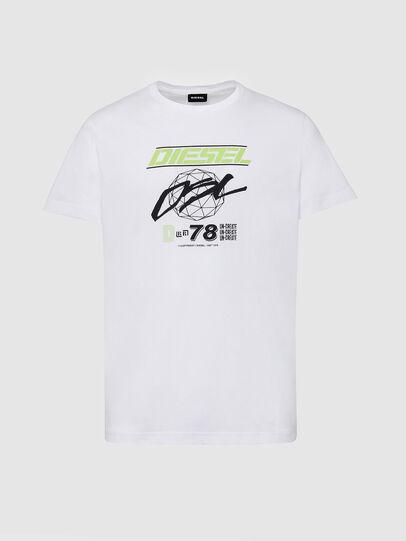 Diesel - T-DIEGOS-K34, White - T-Shirts - Image 1