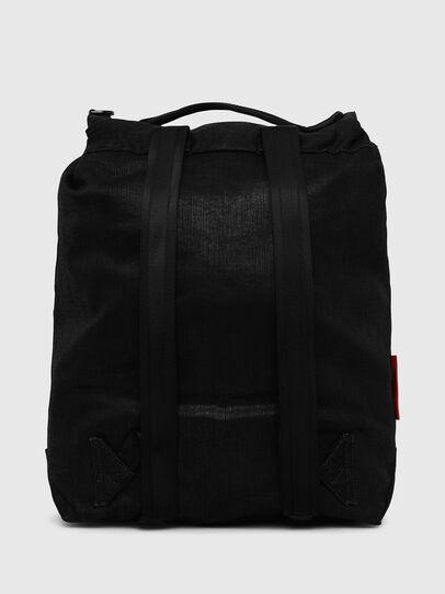 Diesel - VOLPAGO BACK, Black - Backpacks - Image 2